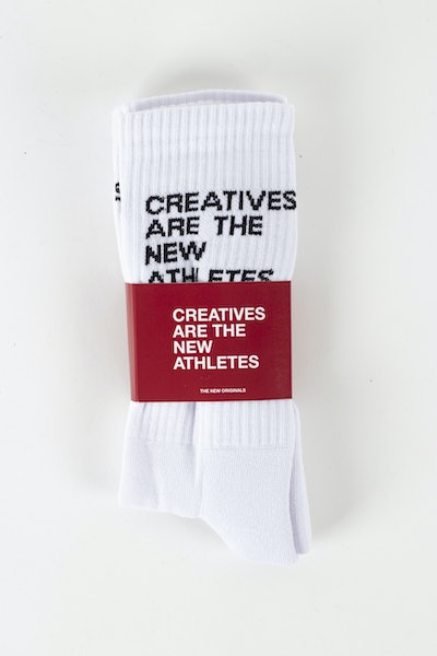 Placeholder for The new originals creatives are the new athletes socks TNO 203 CAT 600 W 1