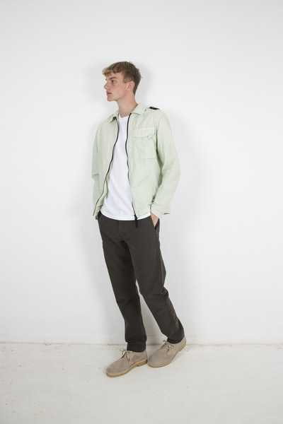 Placeholder for Stone Island Ripstop Canvas Overshirt MO741510802 V0052 1