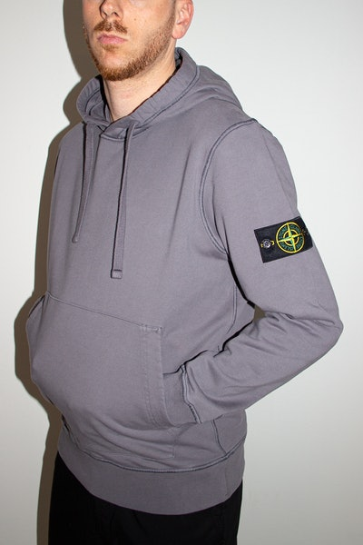 Placeholder for Stone Island2 Cotton Hooded Sweatshirt MO741564151 V0063 3