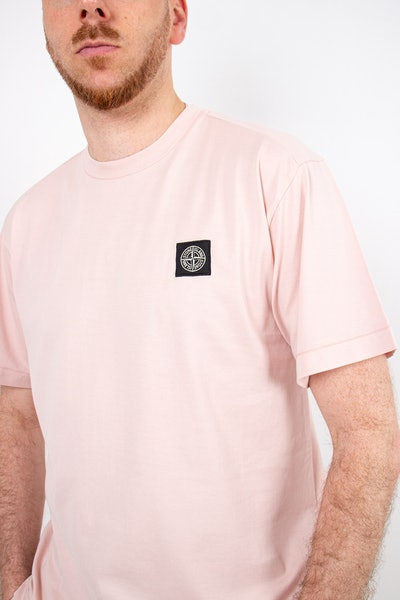 Placeholder for Stone Island2 Garment Dyed Patch Logo T Shirt MO741524113 V0082 1