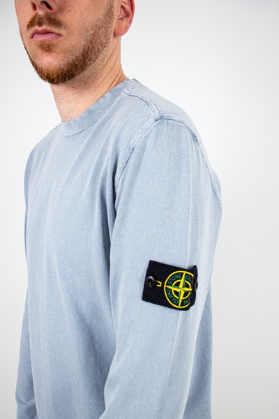 Placeholder for Stone Island2 White Frost Treatment Knit MO7415554 D9 V0046 2