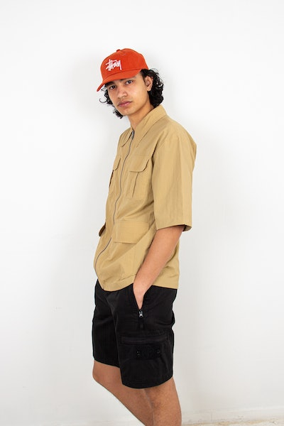 Placeholder for Daily Paper Khalil Shirt Beige 2111121 2