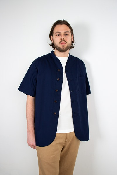 Placeholder for Universal Works ML Shirt 24178 Navy 2