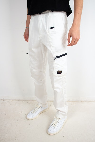 Placeholder for Paul Shark Woven Cargo Trousers 21414074 965 1