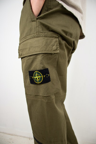 Placeholder for Stone Island Cargo Trousers MO741530419 V0058 3