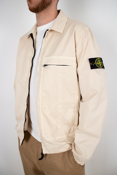 Placeholder for Stone Island Garment Dyed Pocket Zip Overshirt MO741510319 V0093 1