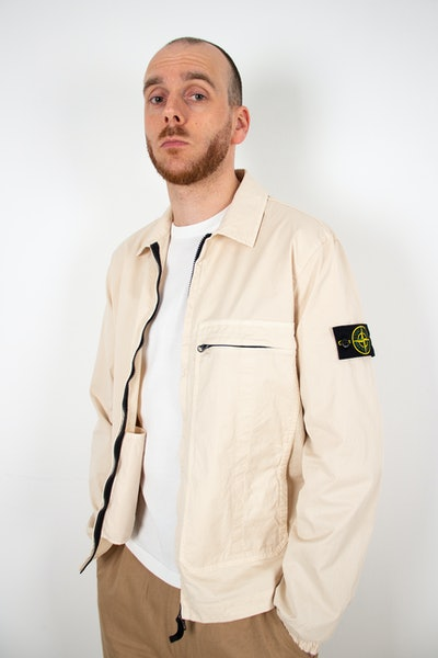 Placeholder for Stone Island Garment Dyed Pocket Zip Overshirt MO741510319 V0093 3