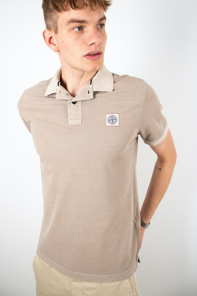 Placeholder for Stone Island Washed SS Polo MO741522 S67 V0095 1