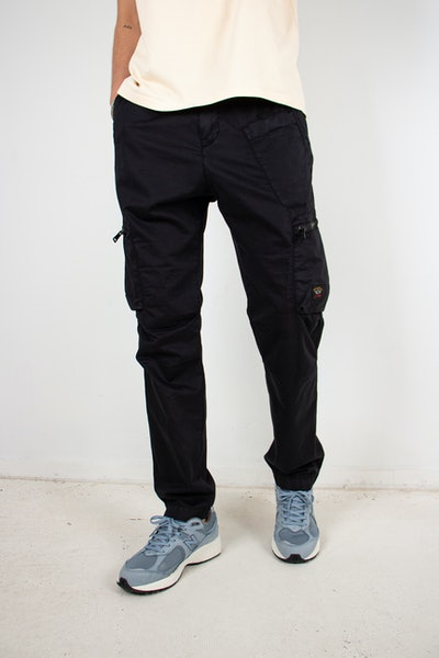 Placeholder for Paul Shark Woven Cargo Trousers 21414074 011 4