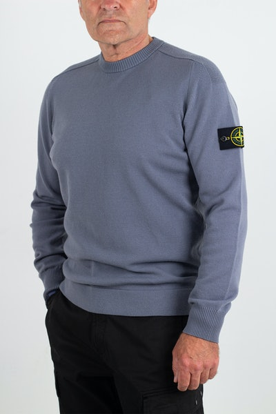 Placeholder for Stone Island Light Wool Knit Crewneck MO7515508 A1 V0046 1