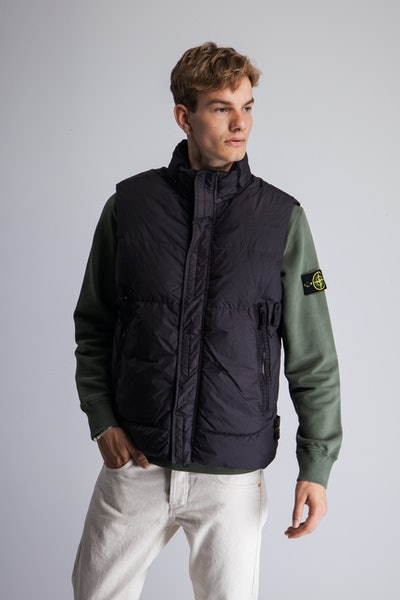 Placeholder for Stone Island Crinkle Reps NY Down Vest MO7515 G0123 V0065 2