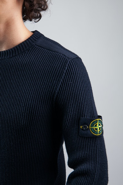 Placeholder for Stone Island Stretch Wool Crewneck MO7515521 C2 V0020 3