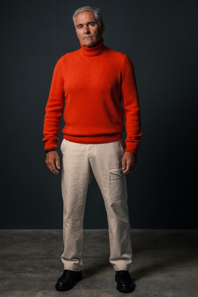 Placeholder for Gran Sasso for Calico Club Knitted Turtleneck 13182 31801 240 1