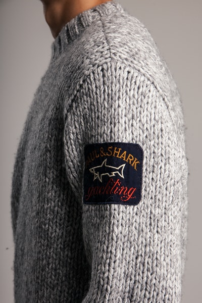 Placeholder for Paul Shark Knitted Roundneck Sweater 11311027 201 4
