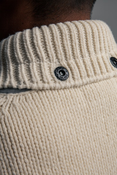 Placeholder for Stone Island Knitted Lambswool Cardigan MO7515548 A4 V0099 9