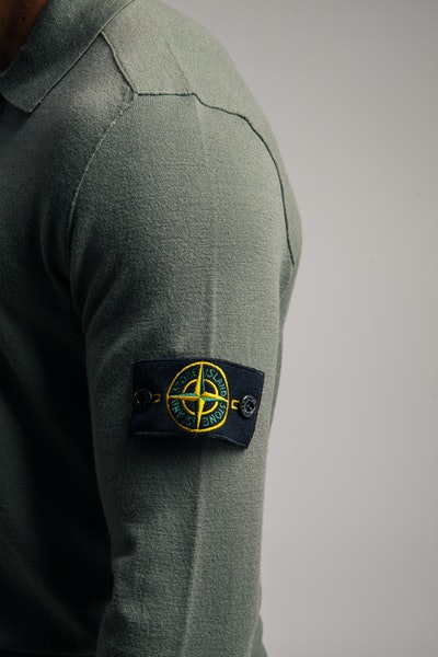 Placeholder for Stone Island Stretch Wool LS Polo MO7515512 A1 V0055 4