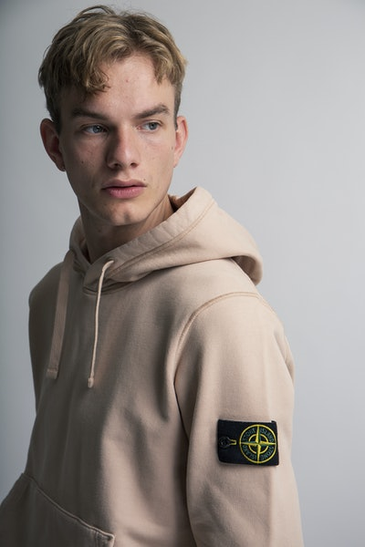 Placeholder for Stone island brushed cotton fleece hoodie mo751564120 v0082 4