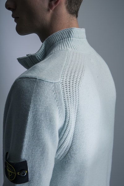 Placeholder for Stone island lambswool knit mo7515540a3 v0052 4