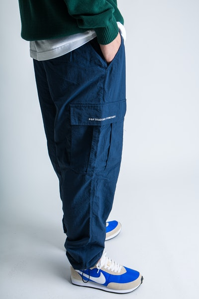 Placeholder for POP Trading Company Cargo Track Pants AW21 04 004 4