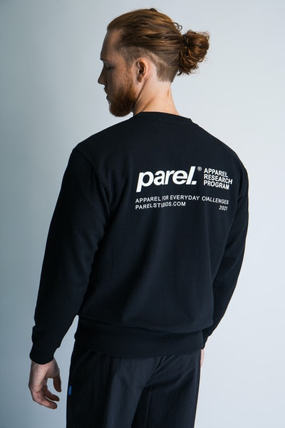 Placeholder for Parel Studios Backprint Sweater PARELAW21 23 3