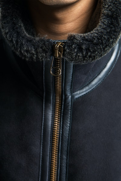 Placeholder for Ten C Shearling Liner 20 CTCUD03115 967 6